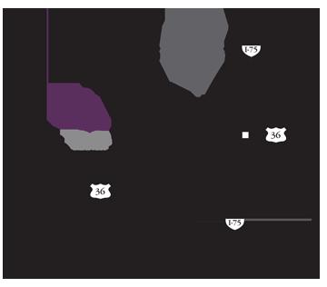 Piqua Manor-map, maps & directions, HCF Inc